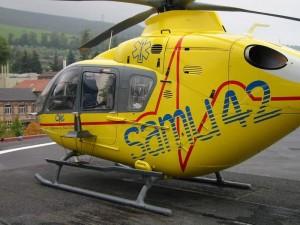 Lanterne en hélicoptère
